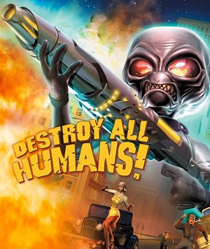 Okladka gry Destroy All Humans! PC